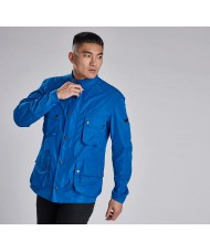 Barbour International Weir Casual Jacket In Electric Blue - MCA0545BL53