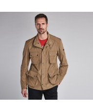 Barbour International Weir Casual Jacket In Military Brown - MCA0545BR31