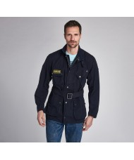 Barbour International Coloured A7 Casual Jacket In Navy - MCA0663NY71