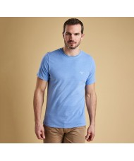 Barbour Garment Dyed T-Shirt In Sky Blue - MML0860BL32