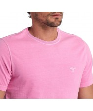 Barbour Garment Dyed T-Shirt In Mauve - MML0860PI31