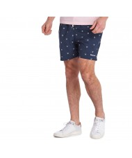 Barbour Crest Swim Shorts In Navy Blue - MSW0035NY91