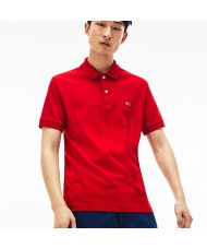 Lacoste Men's Regular Fit Pima Cotton Polo Shirt -Red- DH2050 00 S5H