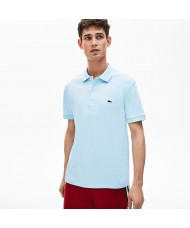 Lacoste Men's Regular Fit Pima Cotton Polo Shirt - Pale Blue- DH2050 00 T01