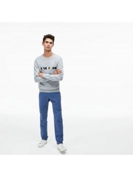 Lacoste Men's  Slim Fit Stretch Gabardine Chino Pants In Light Blue - HH9553 00 Z0G