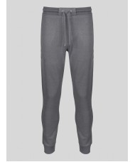 """Luke """" As Good As Gold"""" Track Suit Bottoms in Marl Grey - M520351"""