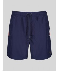 "Luke 1977  ""Caen"" Swim Shorts In Navy"