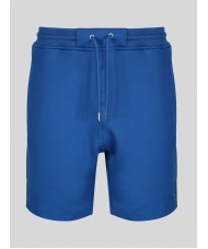 "Luke ""Tyson"" Track Shorts Cotton Poly In Bright Blue In"