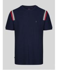 Luke 1977 Le Harve Very Dark Navy Short Sleeve T-Shirt - M520105