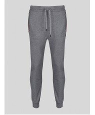 "Luke ""Hamburg"" Track Suit Bottoms in Marl Grey"