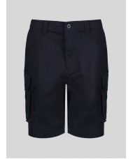 Luke Cango Cargo Short In Navy Blue - ZM471002