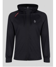 Luke Performance Key Tech Zip Through Hoody In Black - M520370