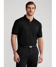Polo Ralph Lauren Slim Fit Pima Cotton Polo In Polo Black