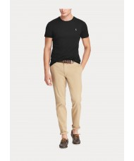 Polo Ralph Lauren Custom Slim Fit Interlock T-Shirt In Black