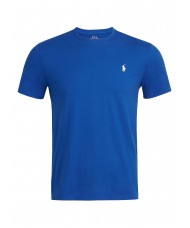 Polo Ralph Lauren Custom Slim Fit Cotton T Shirt In Bright Blue