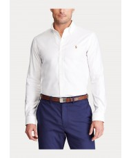 Polo Ralph Lauren Button Down Easy Care Shirt in White