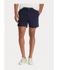 Polo Ralph Lauren Classic Twill Polo Prepster Short In Navy Blue