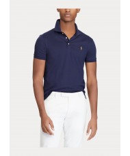 Polo Ralph Lauren Slim Fit Pima Cotton Polo In French Navy