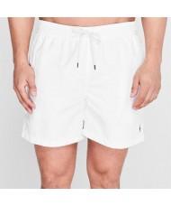 Polo Ralph Lauren Traveller Swim Shorts In White