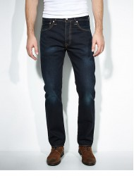 "Levi's 501 Navy Jean ""Muddy Water"" - Straight Leg - Button Fly - 00501-1670"