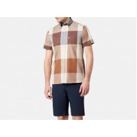 "Aquascutum ""Henlake"" Shirt - Short Sleeve Large Scale Club Check"