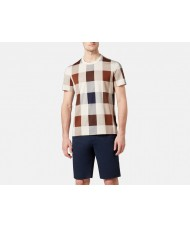 "Aquascutum ""Kenneth"" Large Club Check T Shirt"