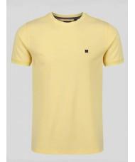 """Luke """"Lenny"""" Crew Neck T-Shirt In Lemon - ZM400101"""