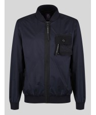"Luke ""Springer"" Full Zip Jacket In Navy - M420705"