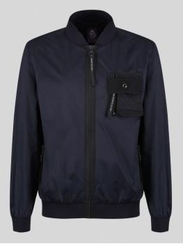 """Luke """"Springer"""" Full Zip Jacket In Navy - M420705"""