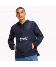 Tommy Jeans Relaxed Fit Hooded Anorak - DMODM02177 002