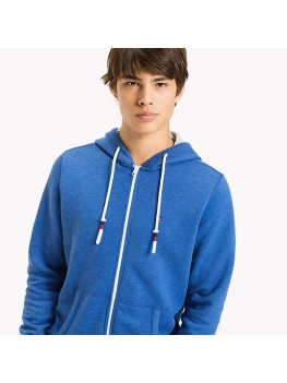 Tommy Jeans Full Zip Hoodie In Nautical blue - Style - DM0DM04073