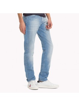Tommy Jeans - Stretch Slim Scanton - Light Blue - DMODM03945 911