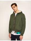 Armani Exchange Convertable Jacket With Geo Camo Vest - Dark green - 6ZZB27-ZNKBZ