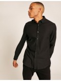 Armani Exchange Long Sleeve Black Shirt