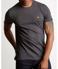 Lyle & Scott Crew Neck T Shirt - Charcoal Marl - TS400V