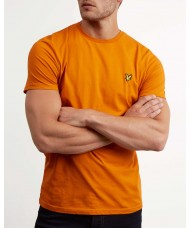 Lyle & Scott Crew Neck T Shirt - Fiery Orange - TS400V