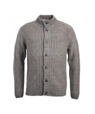 Barbour International Ratio Button Cardigan In grey - MKN1133