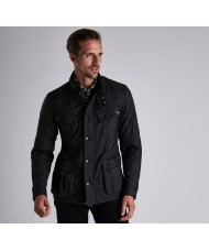 Barbour International Ariel Polarquilt Jacket In Black - MQU0365