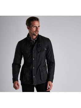 Barbour International Ariel Polarquilt Jacket In Black - MQU0365