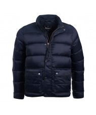 Barbour International Tuck Quilted Jacket In Navy - MQU0994NY