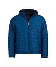 Barbour International Locking Hooded Quilted Jacket - MQU1002BL