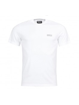Barbour International Logo T Shirt In White - MTS0141