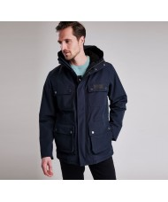 Barbour International Endo Waterproof Breathable Jacket In Navy Blue- MWB0638NY