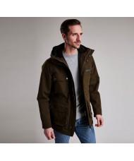Barbour International Endo Waterproof Breathable Jacket In Olive - MWB0638