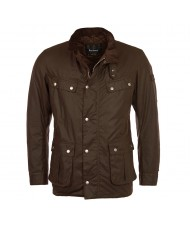 Barbour International Duke Wax Jacket In Bark - MWX0337BR31