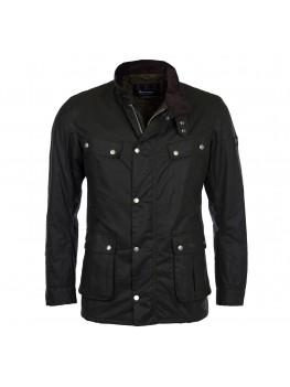 Barbour International Duke Wax Jacket In Sage - MWX0337SG91