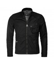 Barbour International Legion Wax Jacket In Black - MWX1000BK51