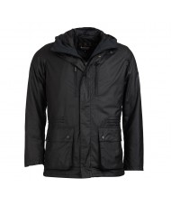 Barbour International Tour Wax Jacket In Black - MWX1390BK71