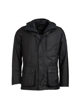 Barbour International Tour Wax Jacket In Black - MWX1390BK71