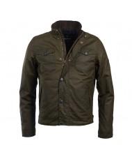 Barbour International Hatch Wax Jacket In Olive - MWX1404OL99